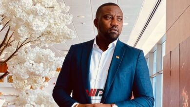 Photo of John Dumelo Foundation Distributes Free Hand Sanitizers In Ayawaso West Constituency