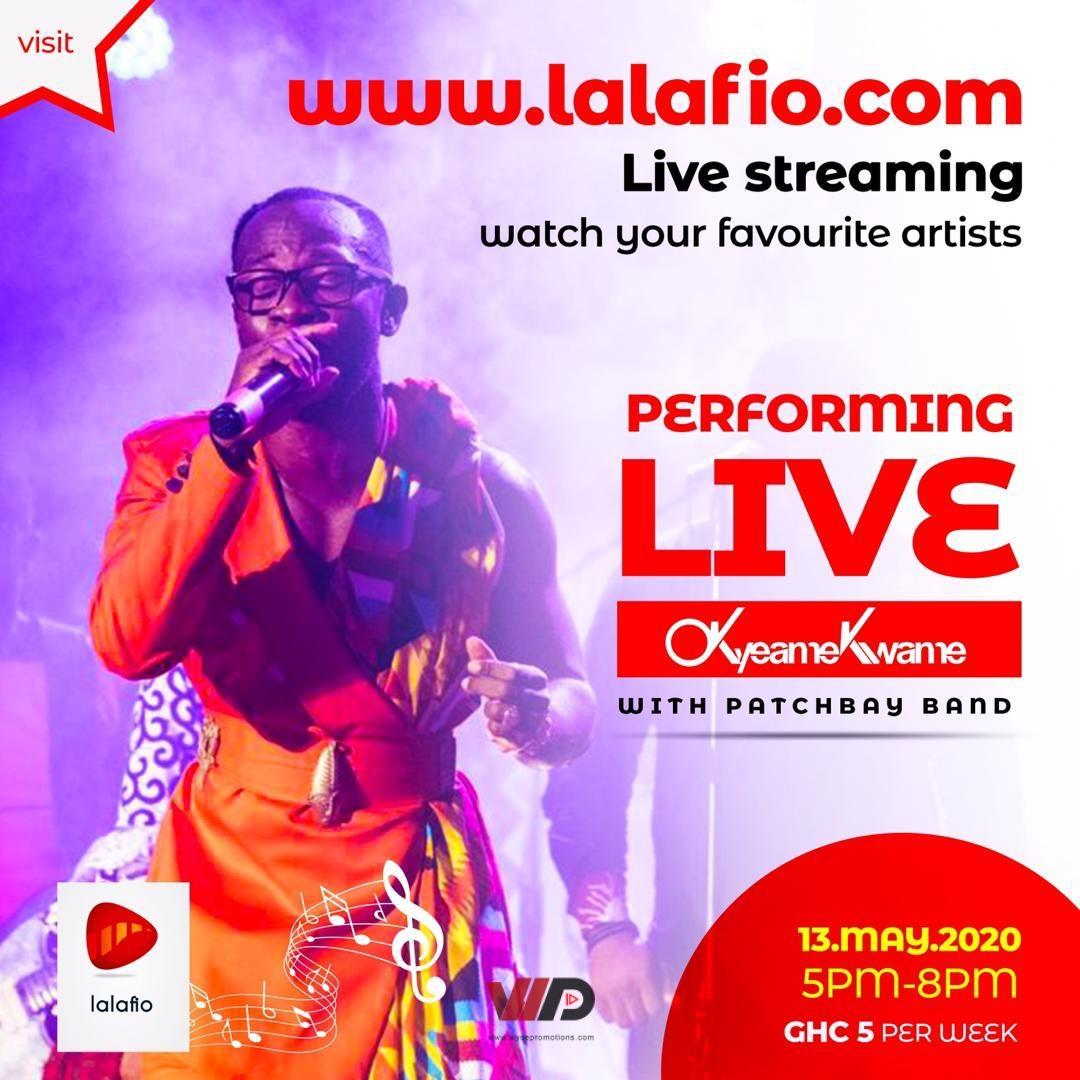 Photo of Okyeame Kwame Unveils LALAFIO  With Vokacom To Save Ghana Music
