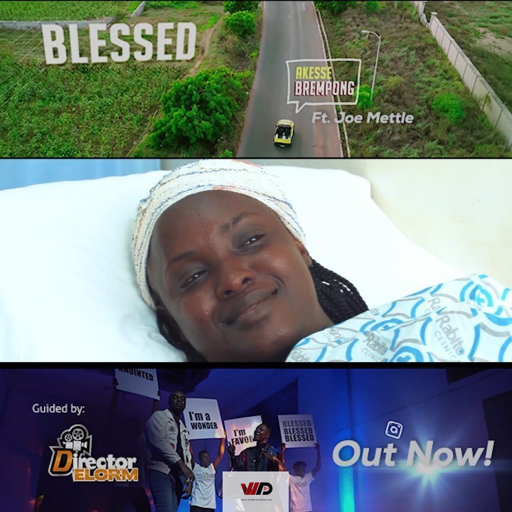 Photo of Akesse Brempong – Blessed ft Joe Mettle (Official Video)