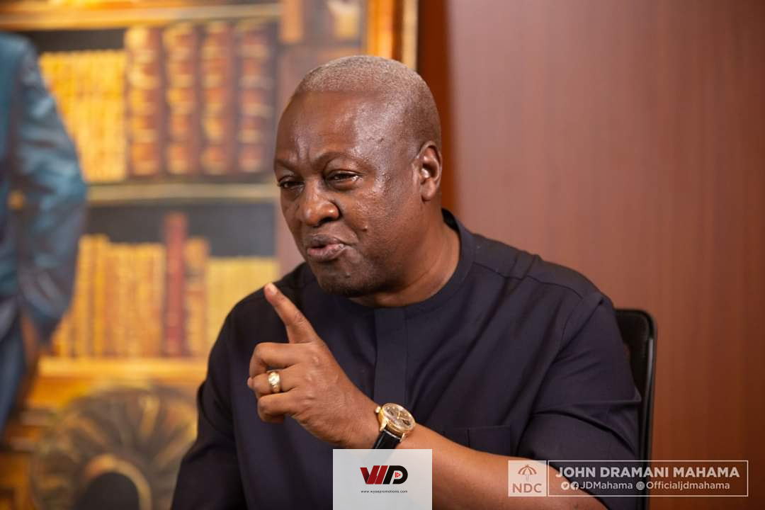 Photo of Akufo-Addo Has Destroyed Businesses – Mahama Laments