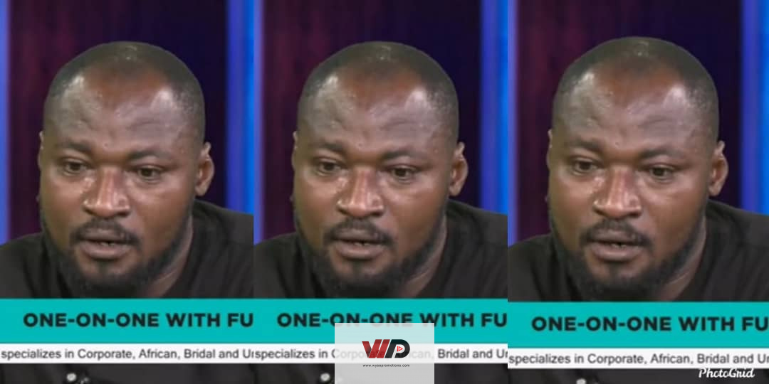 Photo of VIDEO: Funny Face Sheds Uncontrollable Tears On GHOne TV While Talking About His 'Missing' Twins