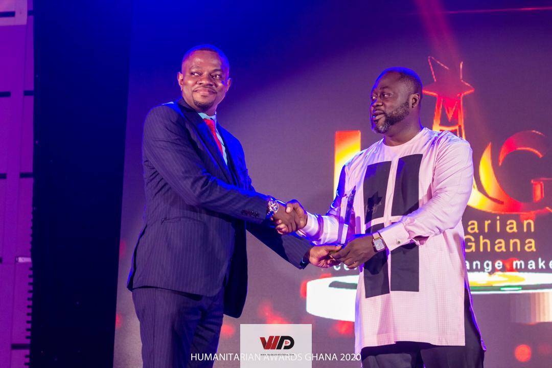 Photo of Dr Ike Tandoeh Honored At Humanitarian Awards Ghana 2020