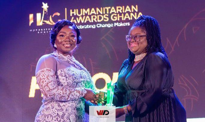 Photo of Stacy Amoateng Receives Honorary Award At Humanitarian Awards Ghana 2020