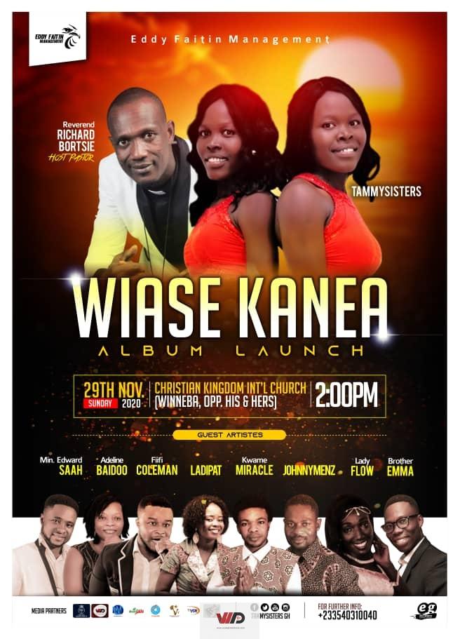 """Photo of TammySisters To Launch """"Wiase Kanea"""" Album On November 29"""