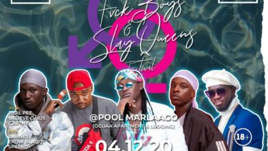 Photo of Boggy Wenzday, Orkortor Perry, Neujay, Kojo Vypa To Perform At 'Fvck Boys & Slay Queens' Festival