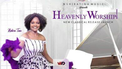 "Photo of Nshira Tina To Launch ""Heavenly Worship"" On November 29"