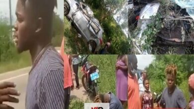Photo of VIDEO: Quamina MP Survives Fatal Accident