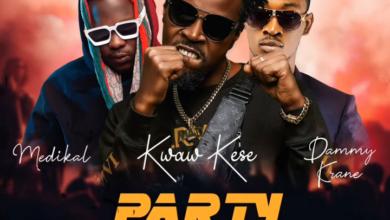 Photo of Kwaw Kese ft. Medikal & Dammy Krane – Party Rocker (Prod. By Skonti)