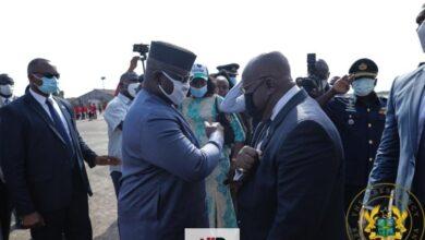 Photo of Akufo-Addo Receives Sierra Leone's Highest National Award