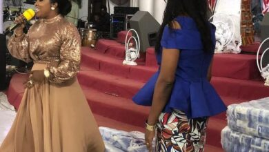 Photo of PHOTOS: Jayana Donates To Widows And Aged Women At Christian Praise International Centre