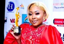 Photo of Adwoa Freshy Wins 2 Awards At The Under 30 Women Awards 2021